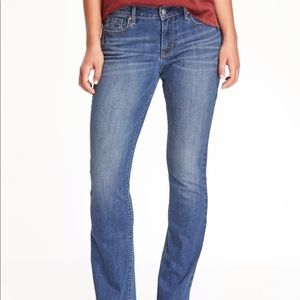 Old Navy the Sweetheart Mid-Rise jeans